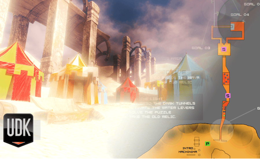 Single Player Level: Sand and Dust